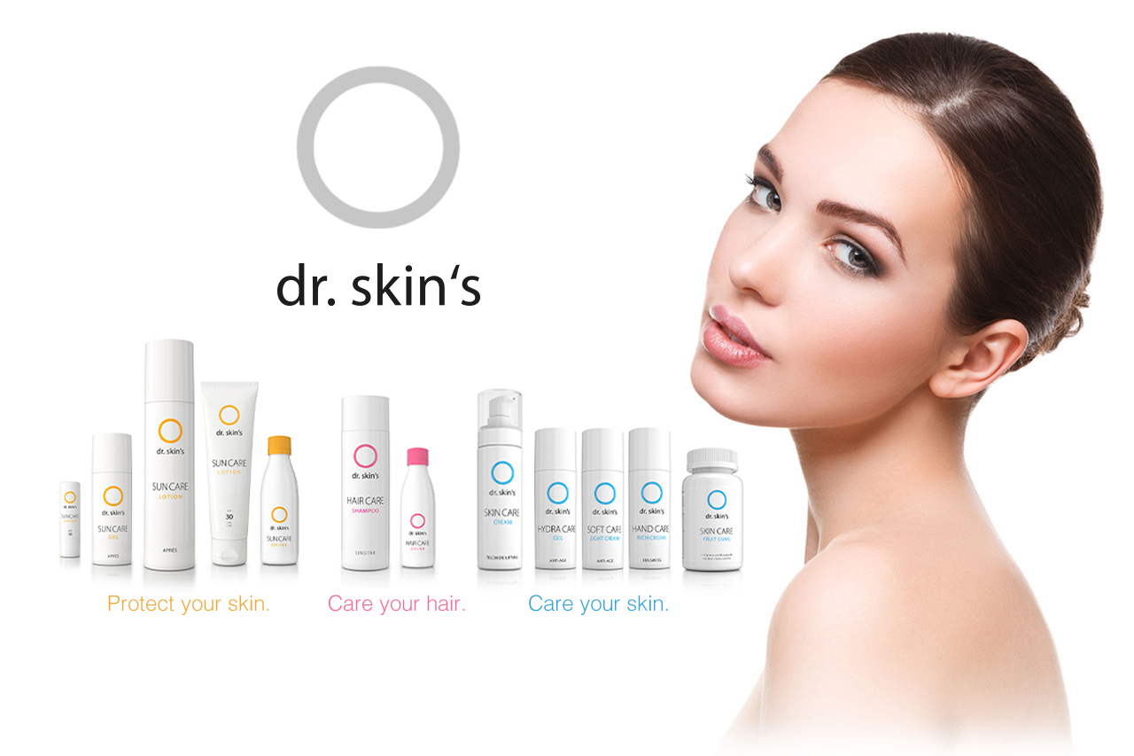 Erweiterung der dr. skin's Produktvielfalt bei den Linien HAIRCARE und SKINCARE