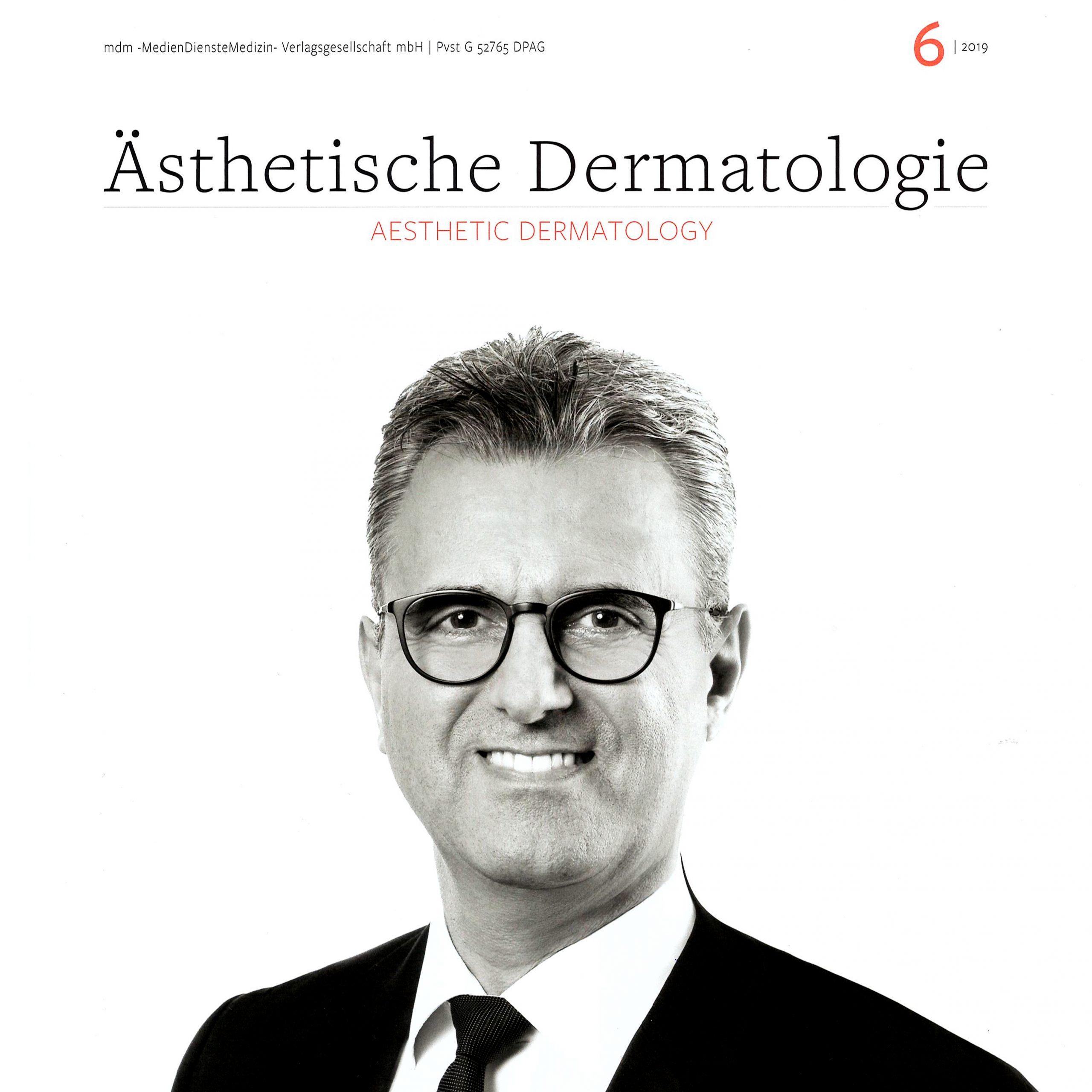 """""""Ästhetische Dermatologie"""" – Interview mit Michael Landsberg – Ausgabe 6/2019"""