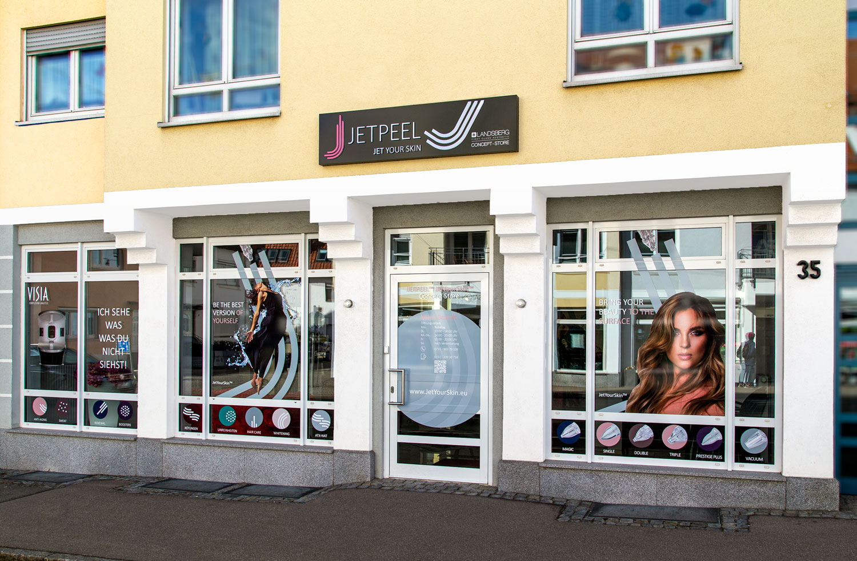 First Landsberg Franchise Store has started!