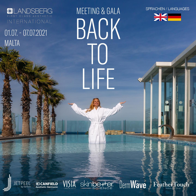 """BACK TO LIFE"" – Aesthetik Congress Masterclass in Malta! 01. – 07. July 2021"